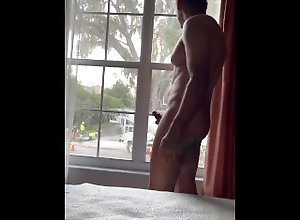 nude;naked;exhibitionist;exhibitionism;window-exhibitionist;window-masturbation;masturbation;jerking-off;penis;cock,Black;Solo Male;Gay;Hunks;Amateur;Mature;Verified Amateurs Masturbating for...