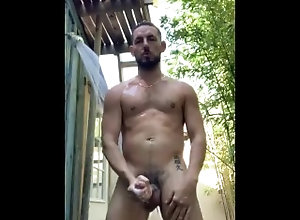 outdoor;outdoor-masturbation;outdoor-jerk-off;outdoor-jerking;outdoor-shower;naked-outdoor-shower;gay-guy;guy;gay-naked;naked;jerking-off;masturbation,Muscle;Solo Male;Big Dick;Gay;Hunks;Amateur;Jock Jerking Off...