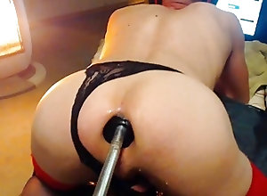 Gaping (Gay);Sex Toys (Gay);Crossdressers (Gay) pour maitre dref