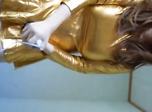 Men (Gay) gold kigurumi...