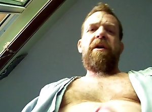 big-cock;hairy;hairyartist;bear;ginger;daddy;redhead;robe;feet;foot,Daddy;Solo Male;Big Dick;Gay;Mature;POV;Feet;Verified Amateurs Unk's robe...