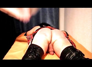 Crossdressers (Gay);Spanking (Gay);Punishment Crossdresser...