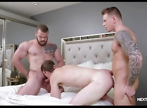 nextdoorraw;big-cock;threesome;public;kissing;blowjob;deepthroat;muscle;buff;tattoos;raw;bareback;bareback-anal;hairy;big-dick;hardcore,Bareback;Blowjob;Big Dick;Group;Gay;Hunks;Reality NextDoorRaw...