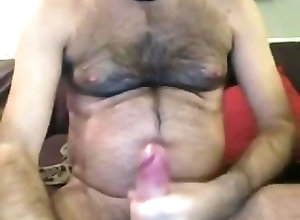 Bears (Gay);Big Cocks (Gay);Masturbation (Gay);Sexy Sexy Bear Cum