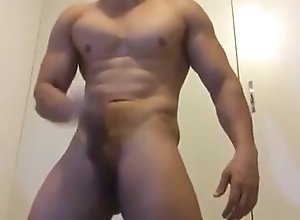 Amateur (Gay);Big Cocks (Gay);Hunks (Gay);Masturbation (Gay);Muscle (Gay) Muscle hunk cumshot