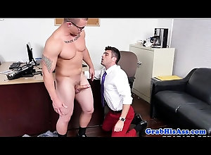 blowjob,tattoo,threesome,POV,office,fetish,assfucking,gay,suit,threeway,muscular,hunk,tie,gaysex,sixpack,gay Cocksucking...