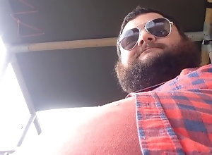 kink;fat;pipe;bear,Solo Male;Gay camping clip