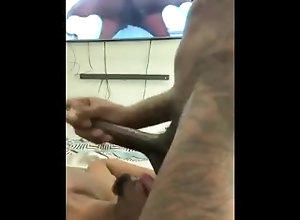 khi;lavene;oral;black,Blowjob;Big Dick;Gay;Amateur;Cumshot;Tattooed Men Khi gets that...