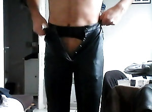 Men (Gay) Leather pants,...