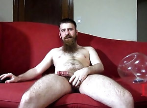 thedudewhosadude;condom;beard;septum;piercings;homemade,Fetish;Solo Male;Gay Thedudewhosadude...