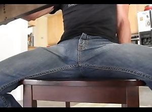 masturbate;cum;cumshot;jeans;cum;in;jeans;handsfree;jizz,Solo Male;Gay Handsfree cumshot...