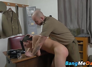 Gay Porn (Gay);Blowjobs (Gay);Hunks (Gay);Military (Gay);Bareback Me Daddy (Gay);HD Gays;Punished;Getting;Hard Soldier getting...