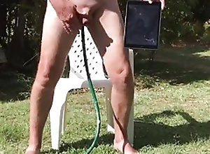 Men (Gay);HD Gays Outdoor water Fun!