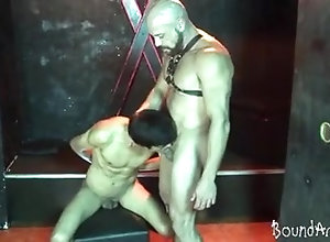 Twinks (Gay);BDSM (Gay);Daddies (Gay);Latin (Gay);Old+Young (Gay);Bound Area (Gay);Mature Head Hunky twink slave...