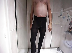 Men (Gay);Masturbation (Gay);HD Gays;Black Pantyhose;Wetting;Black wetting black...