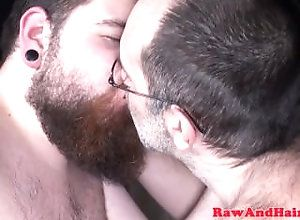 hairyandraw;gay;jockstrap;bear;raw;cub;assfucking;threeway;blowjob;hairy;chubby;bareback;analplay;tattoo;beard;piercing,Bareback;Gay;Bear Chubby cub...
