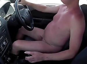 Men (Gay);Amateur (Gay);Driving Boner while driving