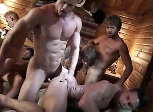 Men (Gay);Gay Porn (Gay);Group Sex (Gay);Hunks (Gay);Muscle (Gay);Session Group session