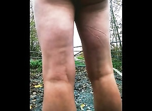 butt-plug;nude;naked;public;outdoor;outside,Euro;Daddy;Fetish;Solo Male;Gay;Straight Guys;Public Naked outside...