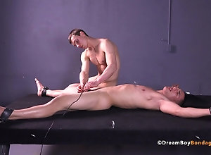 BDSM (Gay);Sex Toys (Gay);Spanking (Gay);Dream Boy Bondage (Gay);VR Porn;180;HD Gays;BDSM Bondage;Electrocution Dumb Jock Made to...