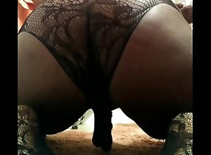 sissy;bodysuit;lingerie,Black;Fetish;Solo Male;Gay;Bear;Amateur;Chubby;Verified Amateurs Panty boy