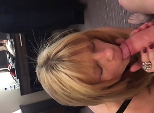 Men (Gay) Blonde sucks cock