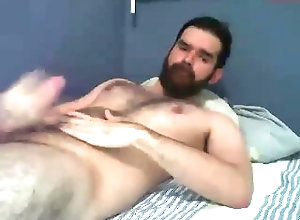 hairy;gay;cum;bear,Daddy;Solo Male;Gay;Bear;Handjob;Cumshot;Verified Amateurs Intense cum