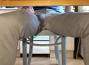 pee;piss;peeing;pissing;jeans-piss;tight-jeans-pee;jeans-pissing;jeans-peeing;pee-jeans;under-table;big-cock,Daddy;Fetish;Solo Male;Big Dick;Gay;Bear;Straight Guys;Amateur;POV;Verified Amateurs Pissing in jeans...