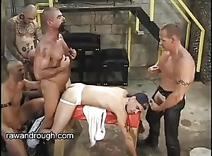 Bareback (Gay);BDSM (Gay);Group Sex (Gay);Muscle (Gay);Raw and Rough (Gay);Johnny Johnny Takes Loads