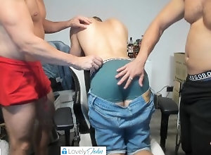 spanking;jeans;tight-jeans;blone-guy;sexy-men;hot-men;straight-men;straight-guy;spanks;hand-spanking;hard-spanking;spanking-hard;doggy;naked-ass;spread-hole;spread-ass,Muscle;Fetish;Group;Gay;Hunks;Straight Guys;Amateur;Uncut;Verified Amateurs Boys taking my...