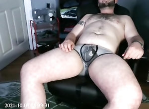 piss;self-piss;desperation-wetting;piss-shower;golden-shower,Daddy;Fetish;Solo Male;Gay;Bear;Reality;POV;Chubby;Tattooed Men piss in my gaming...