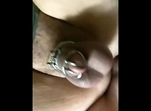 amateur;chasity-cage;gay;onlyfans,Bareback;Twink;Fetish;Big Dick;Gay;Creampie;Amateur;Rough Sex;Jock Cage Fuck