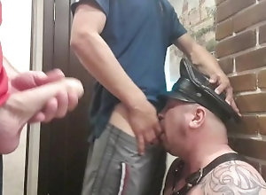 group-sex;big-dick;hard-fuck;deepthroat;extreme-deepthroat;face-slapping;spit-in-mouth;bear;skullfuck;mouth-fuck;dildo;adidas;fetish;throat-fuck;bdsm-gangbang;slave-training,Twink;Fetish;Blowjob;Big Dick;Group;Gay;Rough Sex;Tattooed Men Two young males...