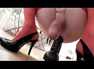 Crossdressers (Gay);How to Ride;How to;Dildo Ride How to ride a...