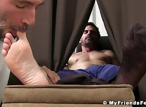 myfriendsfeet;feet;foot-fetish;toes;fetish;worship;toe-licking;toe-sucking;hunk;muscle;sole-licking;softcore;sawyer,Muscle;Gay;Hunks;Feet Handsome...