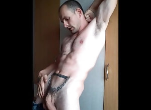 masculine;top;hairy;armpits;nipples;flexing;fit-body;toned-body;ripped-body,Daddy;Muscle;Solo Male;Gay;Hunks;Uncut;Jock;Verified Amateurs Masculine, fit,...