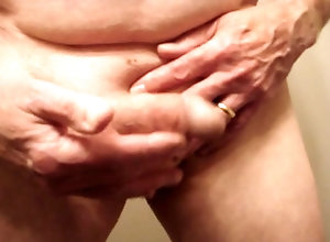 Men (Gay) Soft cock cumming