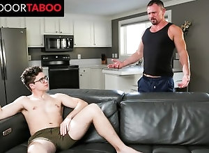 nextdoortaboo;family-roleplay;masturbating;deepthroat;step-fantasy;raw-fuck;glasses;bareback;watching;face-fuck;pov-blowjob;sex-toy;cumshot;step-dad;ass-licking;jesse-zepplin,Bareback;Big Dick;Pornstar;Gay;Reality;Jock;POV;Step Fantasy,Will Braun NextDoorTaboo -...