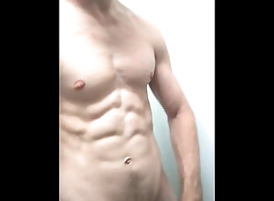 hot-guy;hottie;wank;jerk-off;naked-abs,Solo Male;Gay Hot naked and horny