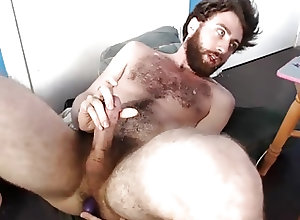 Men (Gay);Amateur (Gay);Hunks (Gay);Masturbation (Gay);Sex Toys (Gay) Bearded Hunk...