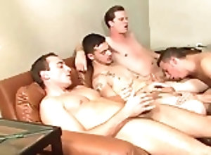 Gay Porn (Gay);Blowjobs (Gay);Group Sex (Gay);Hunks (Gay);Can You All Cum You Can...